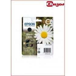 CARTUCHO TINTA EPSON T1811 NEGRO 18XL ORIGINAL
