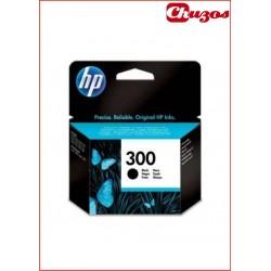 CARTUCHO TINTA HP 300 NEGRO CC640EE ORIGINAL