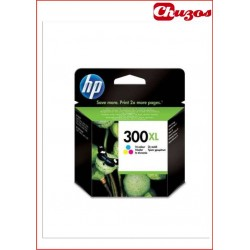 CARTUCHO TINTA HP 300XL TRICOLOR ORIGINAL CC644EE