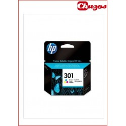 CARTUCHO TINTA HP 301 TRICOLOR ORIGINAL CH562EE