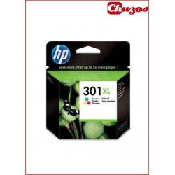 CARTUCHO TINTA HP 301XL TRICOLOR ORIGINAL CH564EE