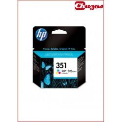 CARTUCHO TINTA HP 351 TRICOLOR ORIGINAL CB337EE