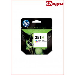 CARTUCHO TINTA HP 351XL TRICOLOR ORIGINAL CB338EE