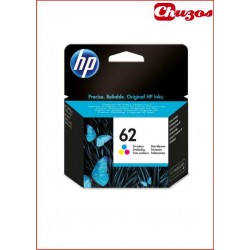CARTUCHO TINTA HP 62 COLOR ORIGINAL C2P06AE