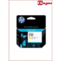 CARTUCHO TINTA HP 711 AMARILLO ORIGINAL CZ132A