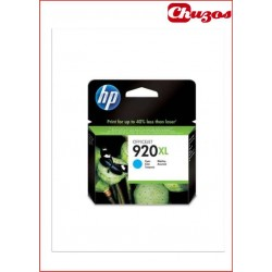 CARTUCHO TINTA HP 920XL CYAN ORIGINAL CD972AE