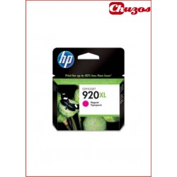 CARTUCHO TINTA HP 920XL MAGENTA ORIGINAL CD973AE