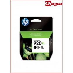 CARTUCHO TINTA HP 920XL NEGRO ORIGINAL CD975AE