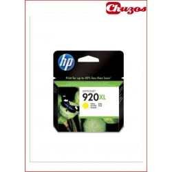 CARTUCHO TINTA HP 920XL YELLOW ORIGINAL CD974AE
