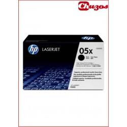 TONER HP CE505X 05X NEGRO ORIGINAL 6500 HJS