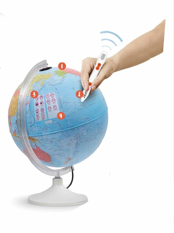 comprar globo terraqueo interactivo