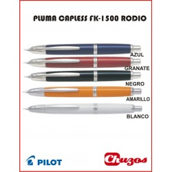 PLUMA PILOT CAPLESS FK-1500 RODIO