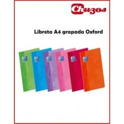 CUADERNO OXFORD GRAPADO A4 48 HJS HOJA LISA