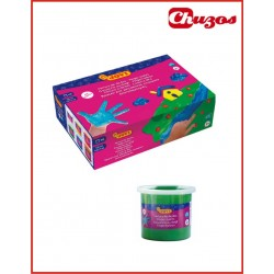 .PINTURA DEDOS 125ML PACK 6 UDS ART. 560/S