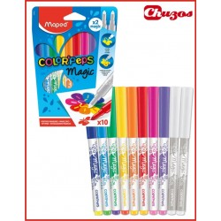 ROULADORES MAGICOS MAPED COLOR PEPS 10 UDS