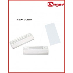 VISOR CORTO CARPETAS COLGANTES CON TIRAS 10 UDS