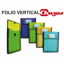 CARPETA ACORDEON A4 5 DPTOS VERTICAL MOD 5027 FOLDERMATE